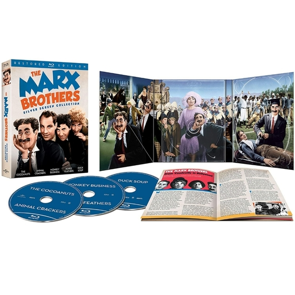 Marx Brothers Silver Screen Restored Collection